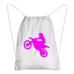 Рюкзак-мешок Кроссовый мотоцикл