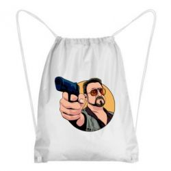 Рюкзак-мішок Лебовськи з пістолетом