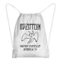 Рюкзак-мешок Led Zeppelin United States of America 77 - FatLine