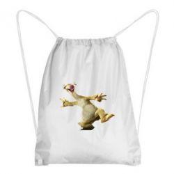 Рюкзак-мешок Ленивец из Ледникового Периода - FatLine