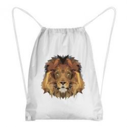 Рюкзак-мешок Lion Poly Art