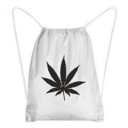 Рюкзак-мішок Листочок марихуани