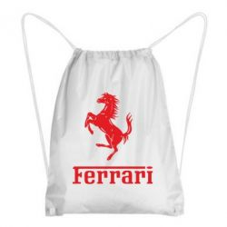 Рюкзак-мешок логотип Ferrari - FatLine