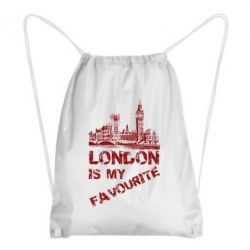 Рюкзак-мешок Лондон моноцвет
