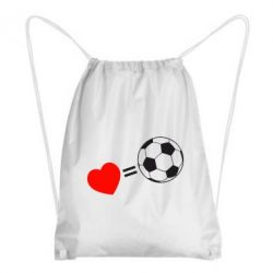 Рюкзак-мешок Love=Football - FatLine