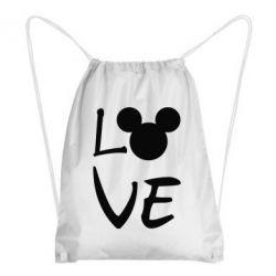 Рюкзак-мішок Love Mickey Mouse (male)