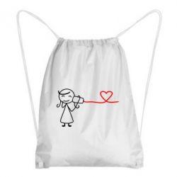 Рюкзак-мешок Любовное послание 2