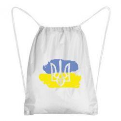 Рюкзак-мешок Мальований прапор - FatLine
