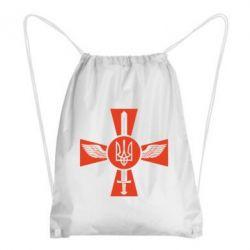 Рюкзак-мешок Меч, крила та герб - FatLine