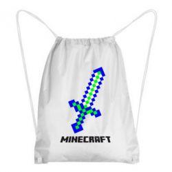 Рюкзак-мешок Меч Minecraft - FatLine