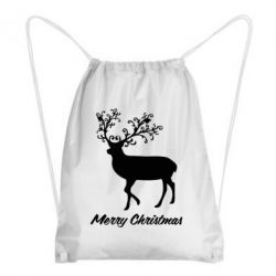 Рюкзак-мешок Merry Christmas Deer