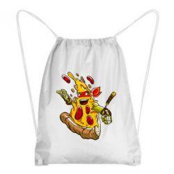 Рюкзак-мешок Микеланджело кусок пиццы