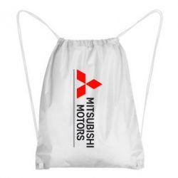 Рюкзак-мешок Mitsubishi Motors лого - FatLine