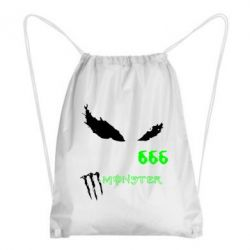 Рюкзак-мешок Monster Energy Eyes 666