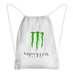 Рюкзак-мішок Monster Energy Logo