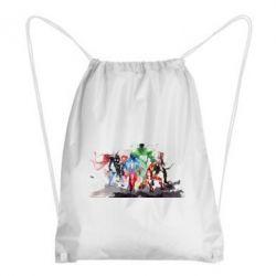 Рюкзак-мешок Мстители Арт - FatLine