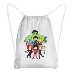 Рюкзак-мешок Мститети в сборе