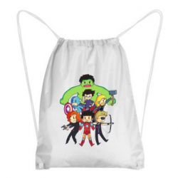 Рюкзак-мешок Мститети в сборе - FatLine
