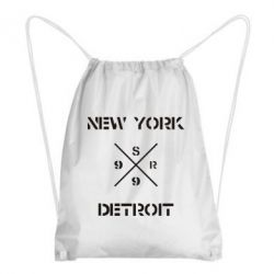 Рюкзак-мешок New York Detroit - FatLine