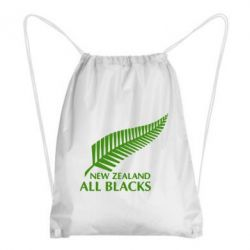 Рюкзак-мешок new zealand all blacks - FatLine