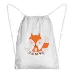 Рюкзак-мешок Of for fox sake - FatLine
