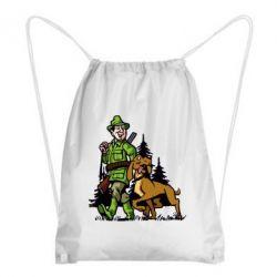 Рюкзак-мешок Охотник с собакой - FatLine