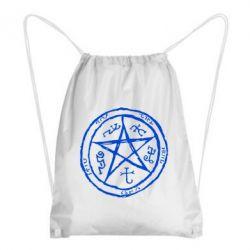 Рюкзак-мешок Оккультный символ Сверхъестественное - FatLine