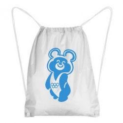 Рюкзак-мешок Олимпийский Мишка - FatLine