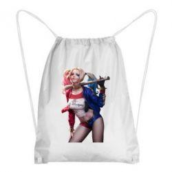Рюкзак-мешок Опасная Харли Квинн