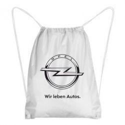 Рюкзак-мешок Opel Wir leben Autos - FatLine