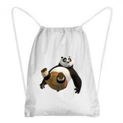 Рюкзак-мешок Падающая Панда - FatLine
