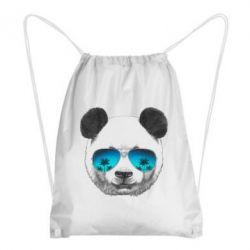 Рюкзак-мешок Панда в очках - FatLine