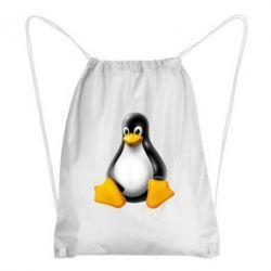 Рюкзак-мешок Пингвин Linux - FatLine