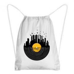 Рюкзак-мешок Пластинка - FatLine