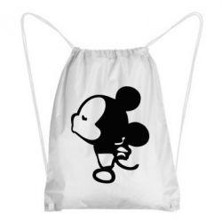 Рюкзак-мешок Поцелуй мышек (м) - FatLine