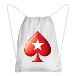 Рюкзак-мешок Poker Stars 3D Logo - FatLine
