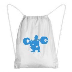 Рюкзак-мешок Приседания со штангой - FatLine
