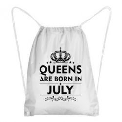 Рюкзак-мешок Queens are born in July - FatLine