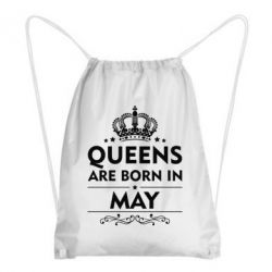Рюкзак-мешок Queens are born in May - FatLine