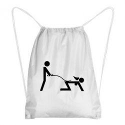 Рюкзак-мешок Садо-мазо - FatLine