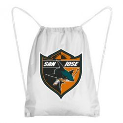Рюкзак-мешок San Jose Sharks - FatLine