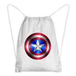 Рюкзак-мешок Щит Капитана Америка - FatLine