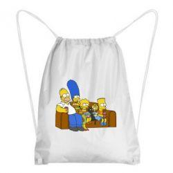 Рюкзак-мешок Семейство Симпсонов - FatLine