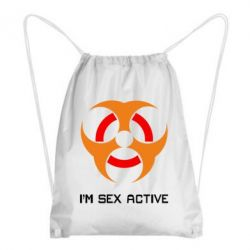 Рюкзак-мешок Sex active - FatLine