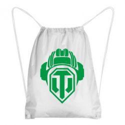 Рюкзак-мешок Шлем WOT - FatLine