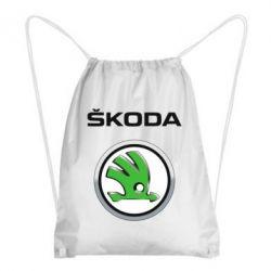 Рюкзак-мешок Skoda Logo 3D