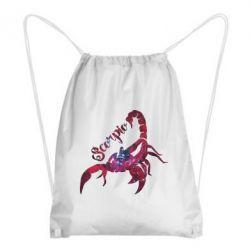 Рюкзак-мешок Скорпион звезды