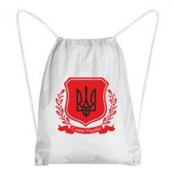 Рюкзак-мешок Слава Україні! (вінок) - FatLine