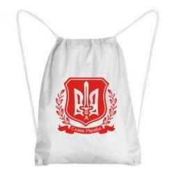 Рюкзак-мешок Слава Україні (вінок) - FatLine