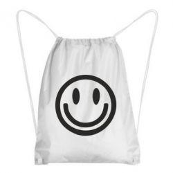 Рюкзак-мешок Смайлик - FatLine